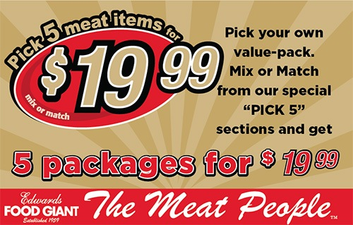 Meat Department Edwards Food Giant